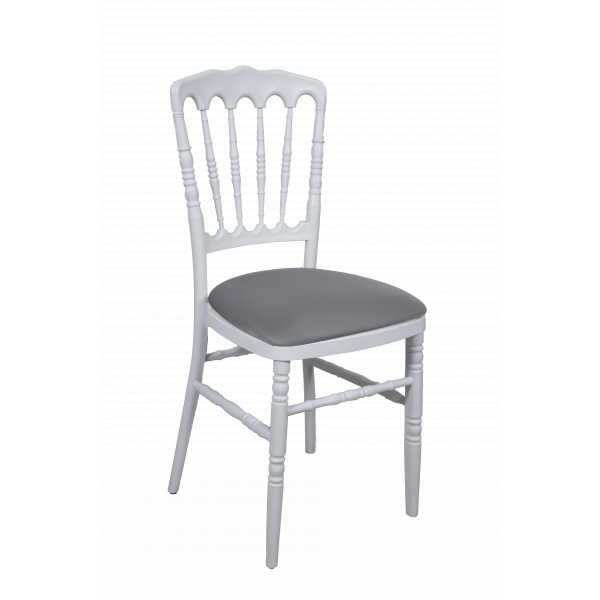 CHAISE NAPOLEON assise grise