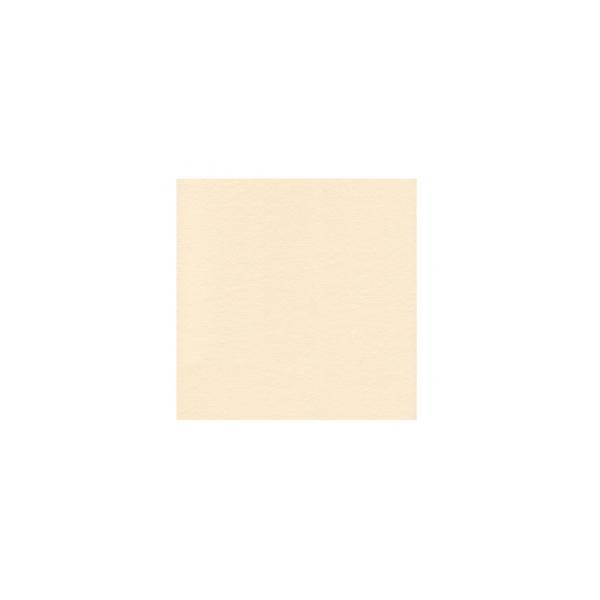 Serviette en papier molletonnées ivoire/vanille deux épaisseurs 19*19 cm