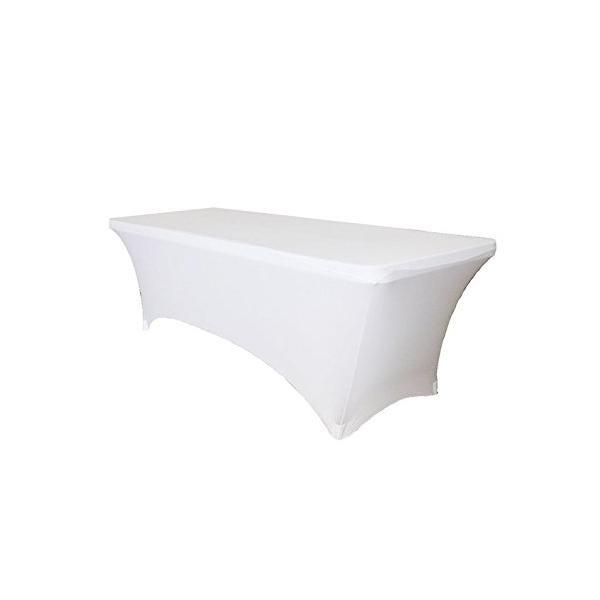 Housse de table blanche
