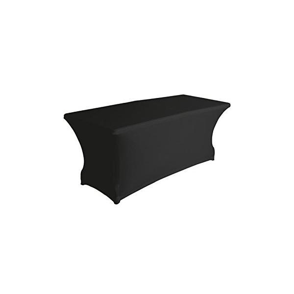 Housse de table noire